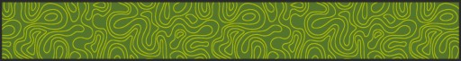 Beerbank mat , beer garden seat cover mat, Waves, green