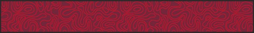 Beerbank mat , beer garden seat cover mat, Waves, red