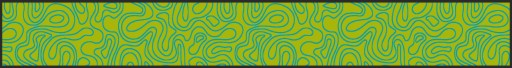 Beerbank mat , beer garden seat cover mat, Waves, light-green