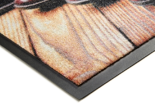 Chromojet Patio™ doormats, plain and customization, Pantone colors, Chromojet™ dust mats, Design Mats, Promotional Mats